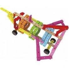 Іграшка дерев'яна конструктор Планки, 208 деталей Classic World №3922