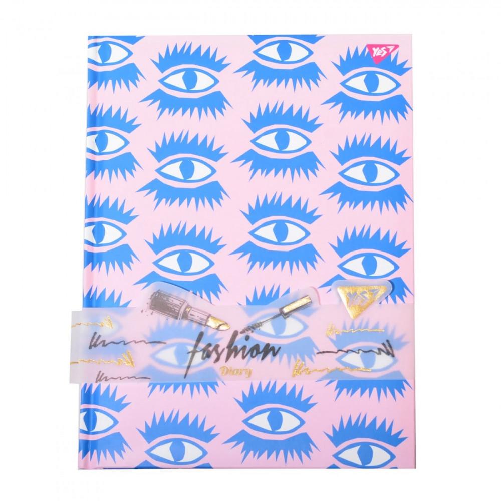 Блокнот-мотиватор A5 64 листа клетка YES Eaes. Fashion (10) №151586