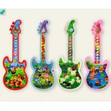 Гітара 28 см, 4 види в кульку 8143(144)(288) КІ