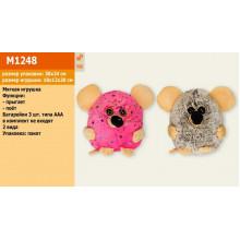 М'яка іграшка Мишка скаче, співає пісню про мишку, в кульку 18х20 см, 2 види (36) M1248