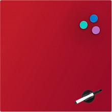 Дошка Axent магнітно-маркерна, скляна, 45х45 см, червона 9614-06-A