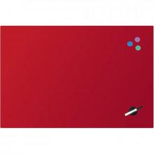 Дошка Axent магнітно-маркерна, скляна, 60х90 см, червона 9615-06-A
