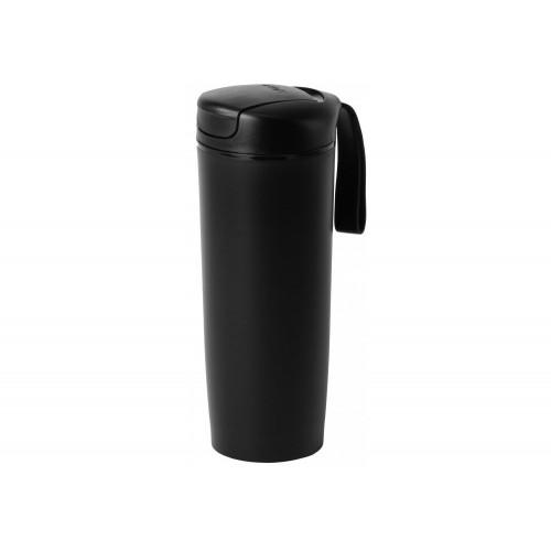 Термокружка пластикова 540 мл Optima PRIME з присоскою,чорна (1) (24) №O52055-01