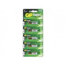 Батарейки GP 24A-2UR5 LR-03 / блистер 5 шт (12) (120)