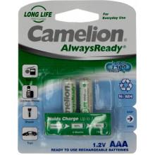 Аккумуляторы Camelion ready Ni-Mh (R-03,600 mAh)/блистер 2 шт (12)