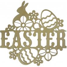 Надпись Easter 15х14 см фанера (5)