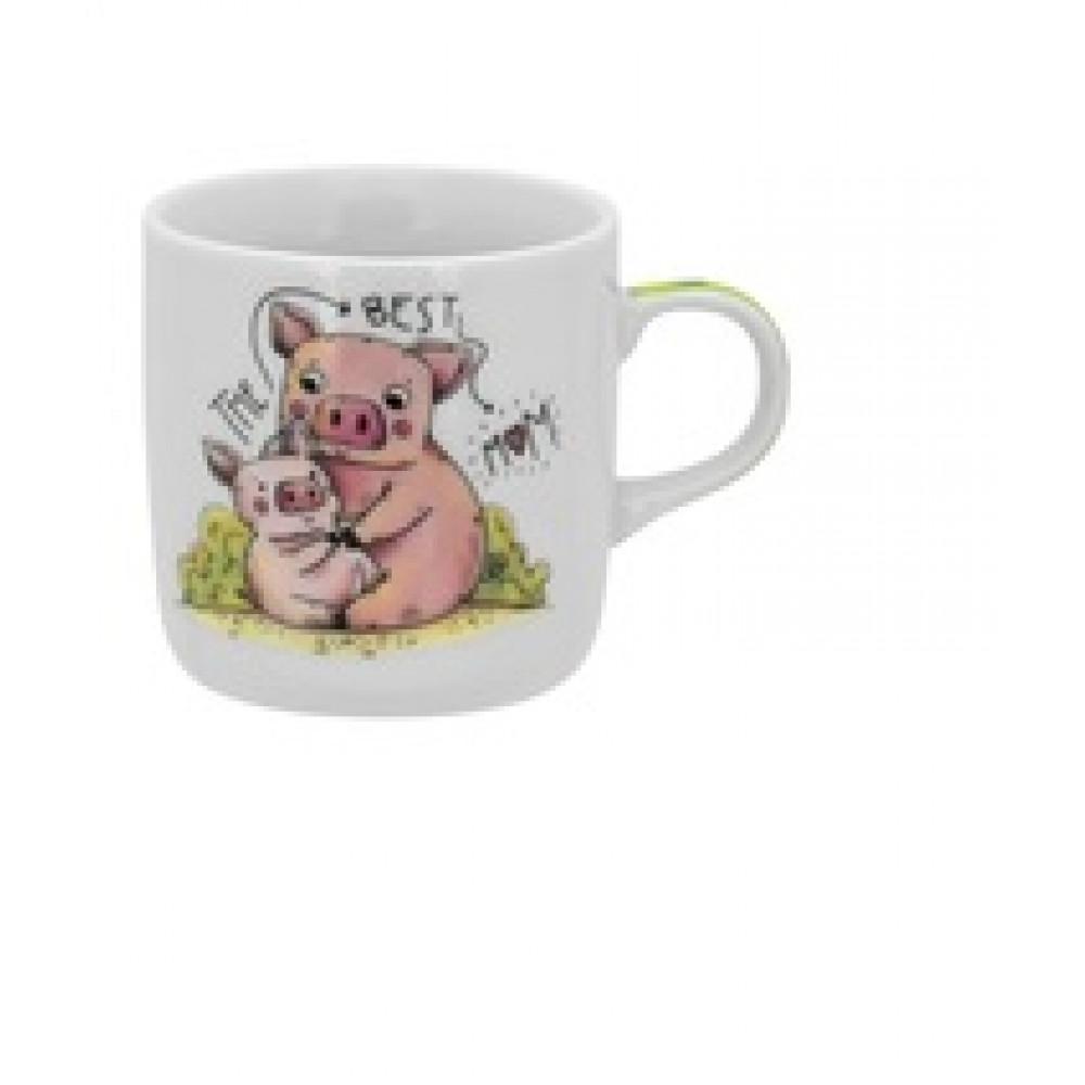 Чашка стекло Luminarc.Edition Piggy (12) №C528/04263