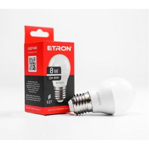 Лампа Etron Light Power LED 1-ELP-042 G45 8Вт 4200K E27 (10)