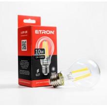Лампа Etron Filament Power прозрачное стекло LED 1-EFP-108 A60 10Вт 4200K Е27 (10)
