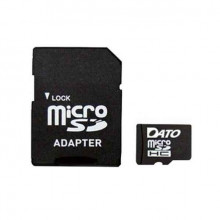 Карта пам'яті 4 Gb Micro-SDHC Dato adapter class4 №1028/5033