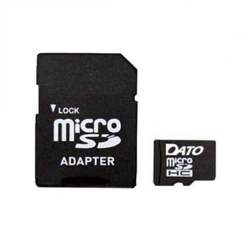 Карта памяти 4 Gb Micro-SDHC Dato adapter class4 №1028/5033