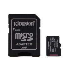 Карта памяти 32 Gb Micro-SDHC (UHS-1) Kingston Canvas Select Plus (adapter) R-100 MB/s A1 class10 8680