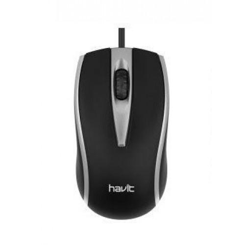 Мышка Havit HV-MS871 USB gray
