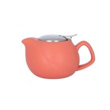 Заварник для чая керамический 450 мл Limited Edition Lotos коралловый (247) №JH10010-A458/5199