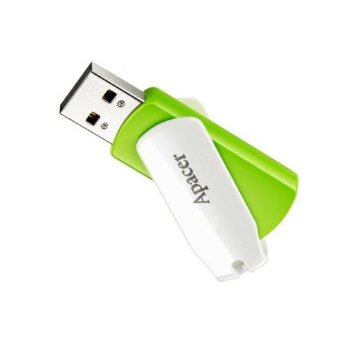 Флеш-память 16GB Apacer AH335 USB 2.0 green/white №4347