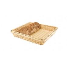 Корзина пластикова прямокутна для хліба, фруктів 30х20 см (100) №R85141