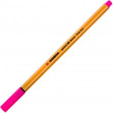 Файнлайнер Stabilo 88 0,4 мм fluo pink/флюо розовый (10) №056