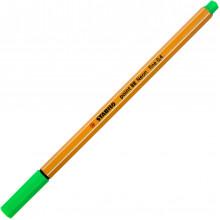Файнлайнер Stabilo 88 0,4 мм neon green/зеленый неоновый (10) №033