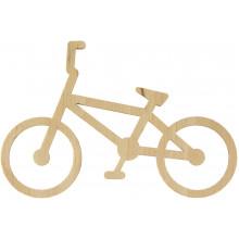 Велосипед 7х11 см фанера асорті