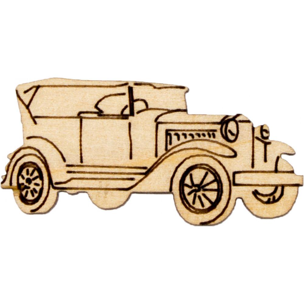Автомобиль 5 см фанера ассорти