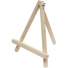 Мольберт сувенірний дерев'яний настільний 18 х18х21см №GPT50045751/2986