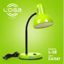 Лампа настільна Салат (12) L-16
