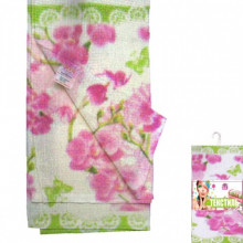 Набор салфеток Орхидея 6 шт 20*20см хлопок S&T (48) №93211