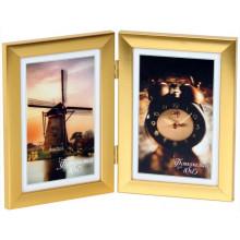Фотоколлаж 10 х15 2 в 1 золото металлик №2-9118