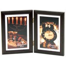 Фотоколлаж 10 х15 2 в 1 темно-коричневый №2-9145