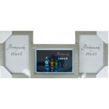 Фотоколлаж 10 х15 3 в 1 серебро металлик №3-0185