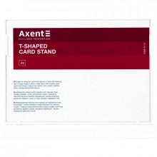 Табличка інформаційна горизонтальна Axent А5 біла №6266-21-А