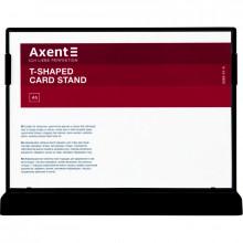Табличка информационная горизонтальная Axent А5 черная №6266-01-А