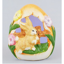 """Статуэтка """"Кролик"""" с подсветкой 13,2 см (48) / Bonadi / (4) №EG10-A10"""