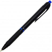 Ручка автоматическая шариковая Flair Carbonix синяя (50) №78525/236