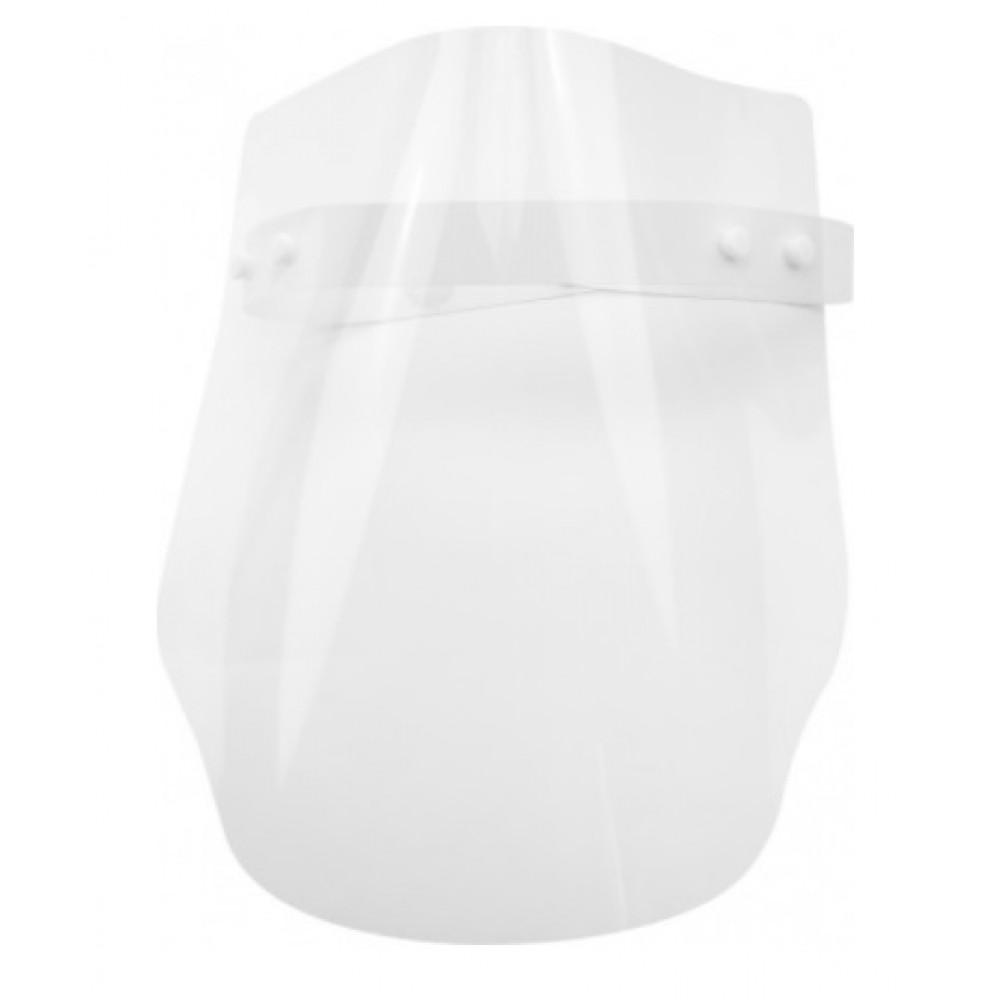 Экран-маска защитный прозрачный, крепление на ленте кнопками №E30855 (30)