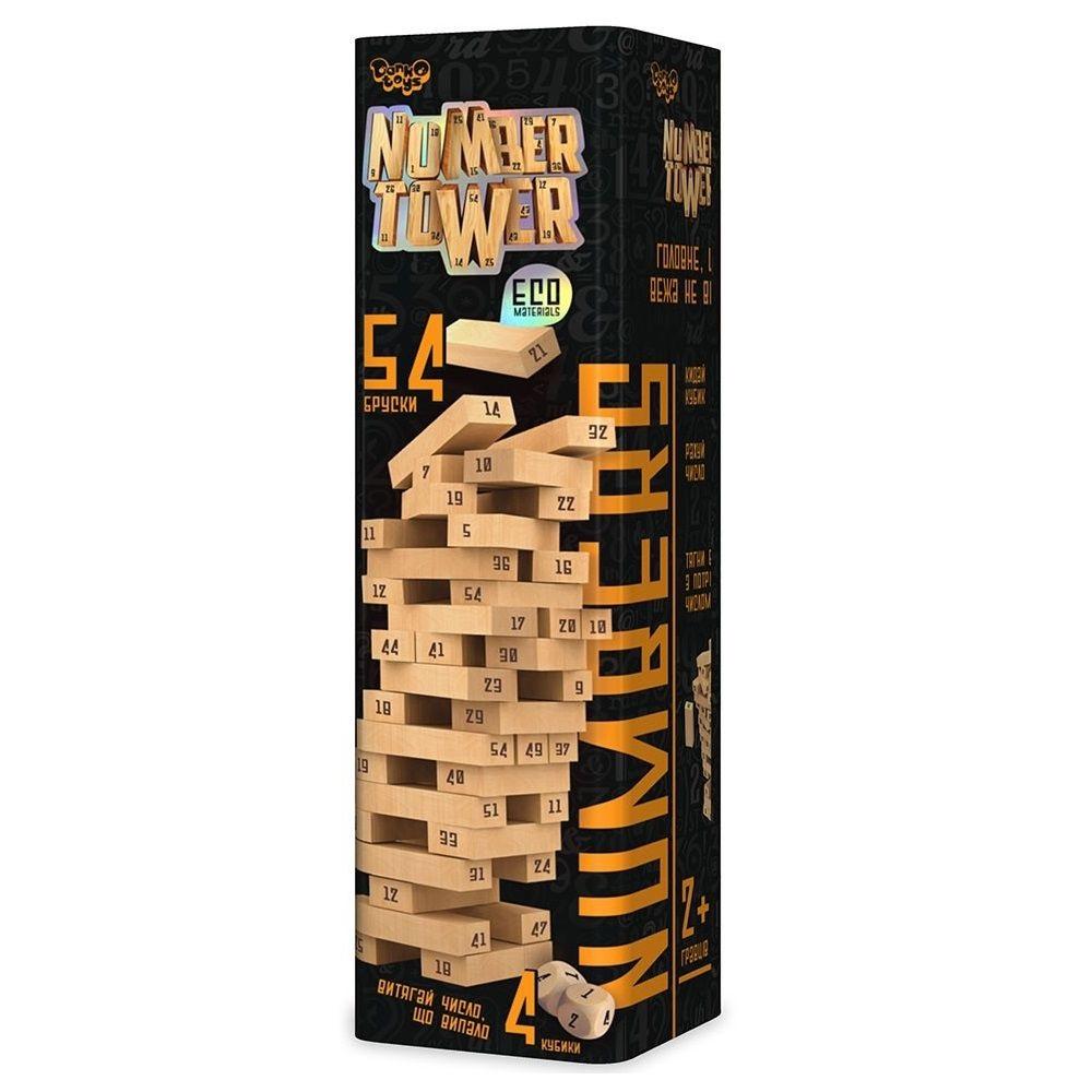 Игра Number Tower на украинском (6) №NT-01 U DankoToys