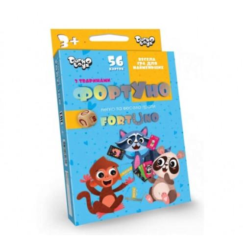 Гра ФортУно розвиваюча DankoToys (32) №UF-01-01 U
