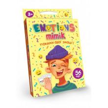 Гра Emotions Mimik Карткова DankoToys (32) №EM-01-01U