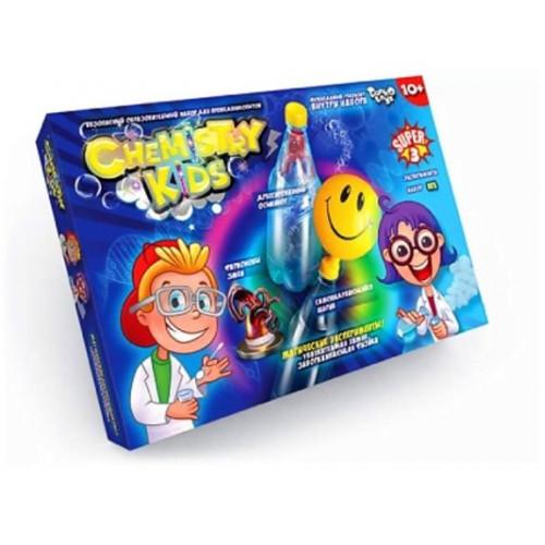 Набір для дослідів Chemistry Kids  Danko Toys (4) №CHK-02-01 U, 02 U, 03 U, 04 U