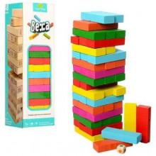 Игрушка деревянная Башня,26 см,в коробке,27,5 х8х8см (50) MD1210