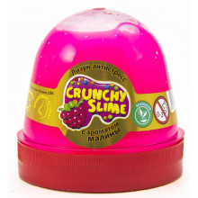 Лизун-антистрес Mr. Boo Crunchy slime Малина 120 гр (24) 80085