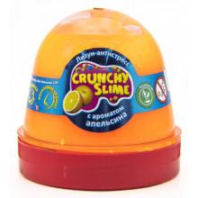 Лизун-антистресс  Mr.Boo Crunchy slime Апельсин 120 гр (24) №80086