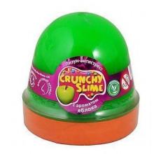 Лизун-антистресс  Mr.Boo Crunchy slime Яблоко 120 гр (24) №80088