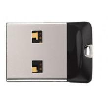 Флеш-пам`ять 64GB SanDisk Cruzer Fit USB2.0 black
