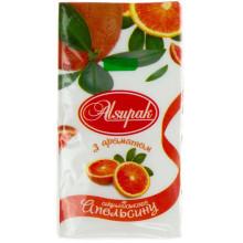 Платочки бумажные Alsupak Сицилийский апельсин (10) (160)