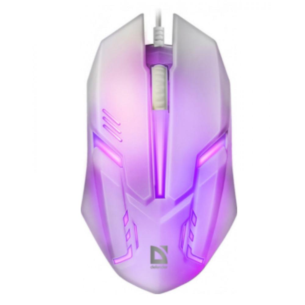 Мышка Defender Cyber MB-560L white №52561