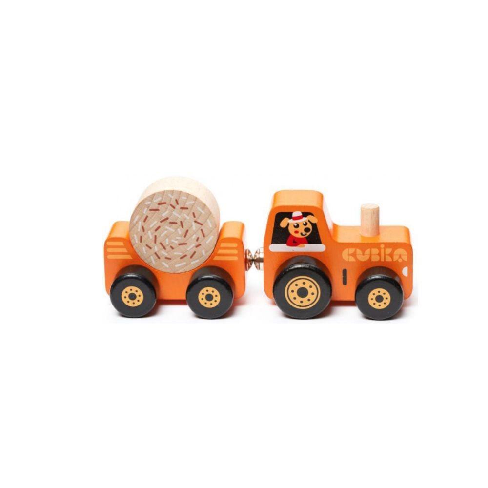 Игрушка деревянная Трактор №15351