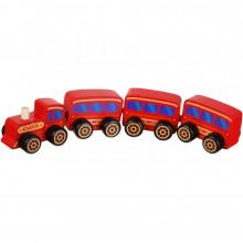 Іграшка дерев'яна Поїзд Cubika №15375