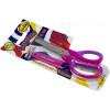 Ножиці дитячі Class 13,3 см,рожеві,прогумовані ручки,з чохлом (30) №4283-12 З