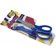 Ножницы детские Class 13,3 см, синие, прорезиненные ручки, с чехлом (30) №4283-06С